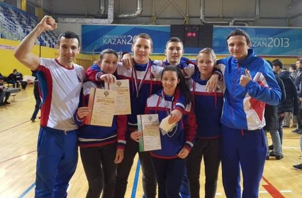 Спортсмены Севастополя привезли блестящий результат из Казани