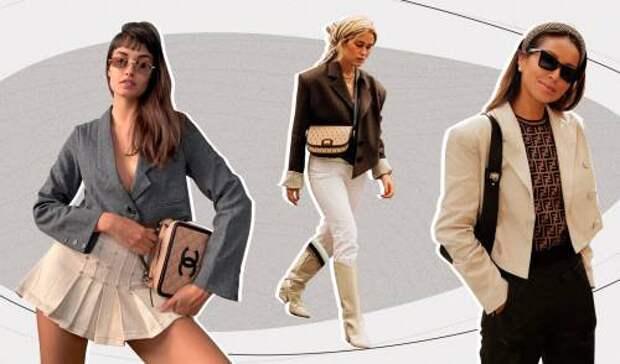 Кроп-жакеты – главный модный бестселлер этого лета: что это такое и где искать