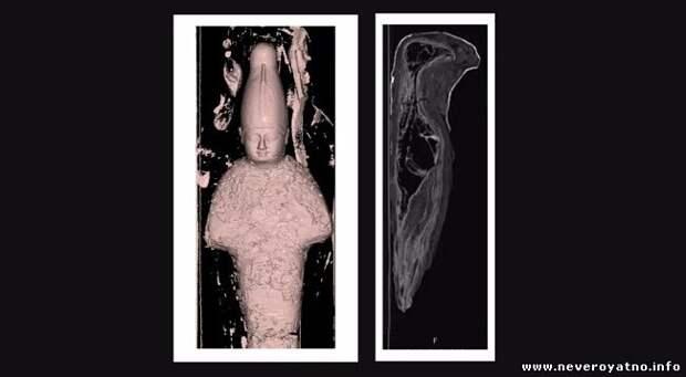 Маленькая египетская мумия из Хайфы принадлежит не человеку