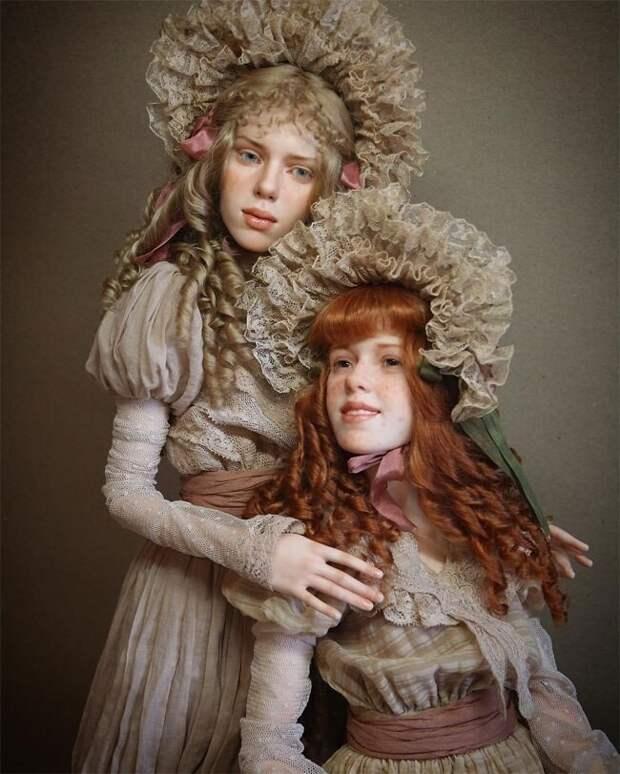 Гиперреалистичные куклы от талантливого мастера Михаила Зайкова