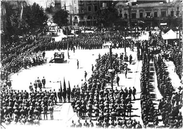Тифлисский блицкриг Красной армии