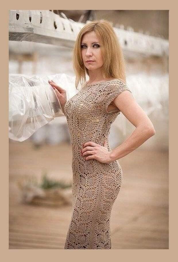 Идея и узор для создания великолепного платья