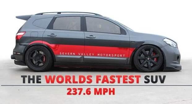 Самый быстрый в мире SUV: Nissan превзошел рекорд Тойоты!