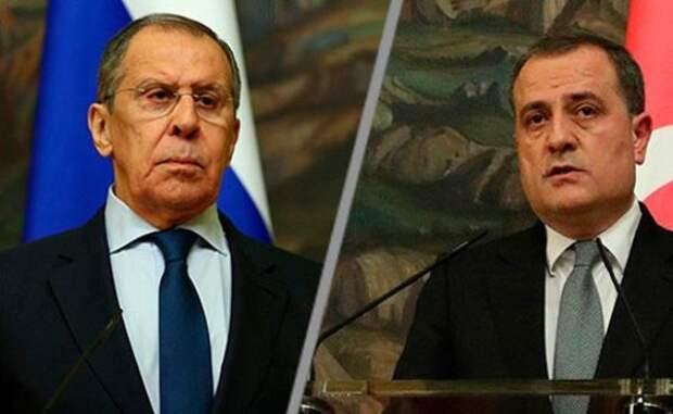 Лавров иБайрамов обсудили выполнение договорённостей поКарабаху