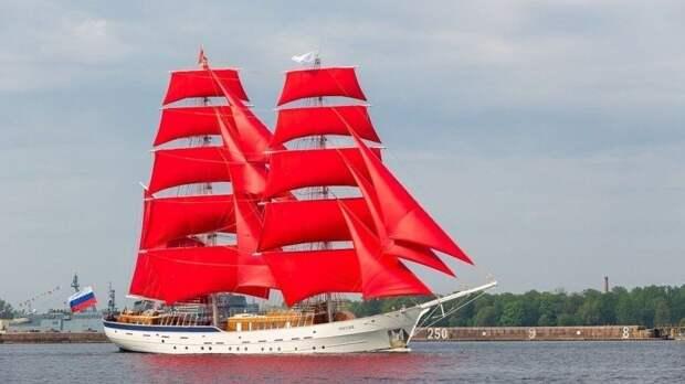 Мощно исмело: репетиция праздника «Алые паруса» прошла вПетербурге— видео