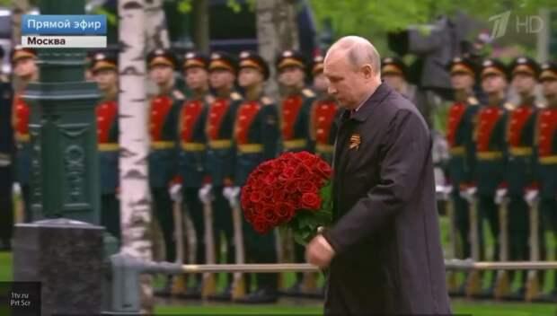 «Мы непобедимы, когда мы вместе»: Путин обратился к гражданам РФ по случаю Дня Победы