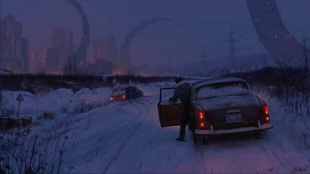 Художник Стефан Койдль иего эстетика потустороннего