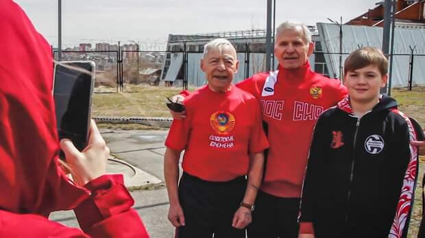 Ветеран Великой Отечественной войны ставит спортивные рекорды