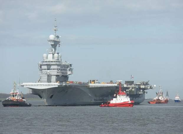 Программа PANG: Франция построит новый авианосец