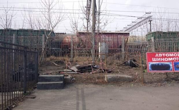 На Иловайской по указанию Госинспекции по недвижимости снесли незаконное строение