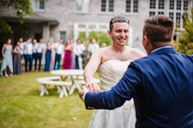 Свадьбы, где все идет не по утвержденному плану или в жизни бывает все