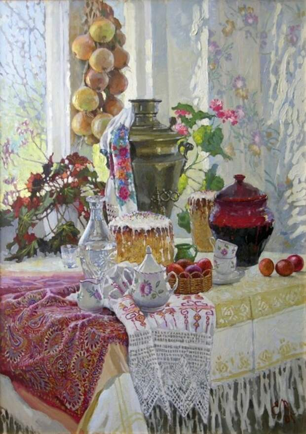 Источник: pinterest.com. Евгений Муковнин «Светлый праздник» (2005)