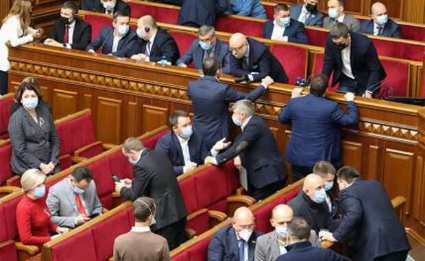На фото: в Верховной раде Украины