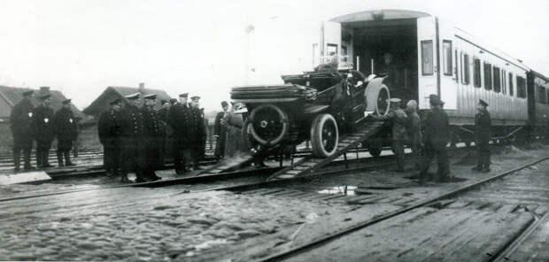 Императорский вагон-гараж авто, история, факты