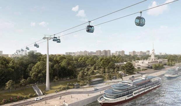 Архитектор Вершинин: Москве не нужна канатная дорога между Сходней и речным вокзалом