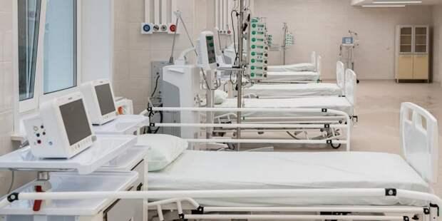 Собянин рассказал о ходе строительства II очереди больницы в Коммунарке