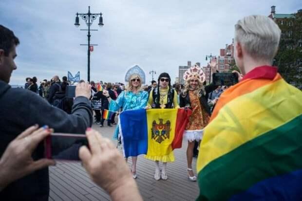 Санду тянет Молдавию кЛГБТ, воспевая «европейские ценности»