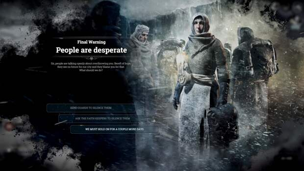 Frostpunk и моральные дилеммы