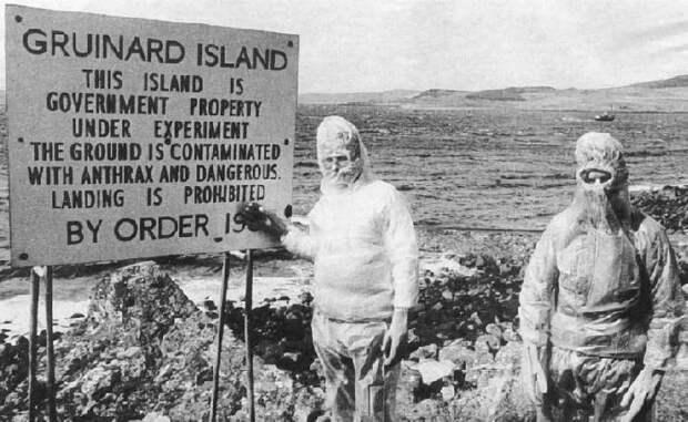 Остров Грюнард, где проводили испытания биологического оружия, считается одним из опасных мест на планете./Фото: f.imgs.vietnamnet.vn