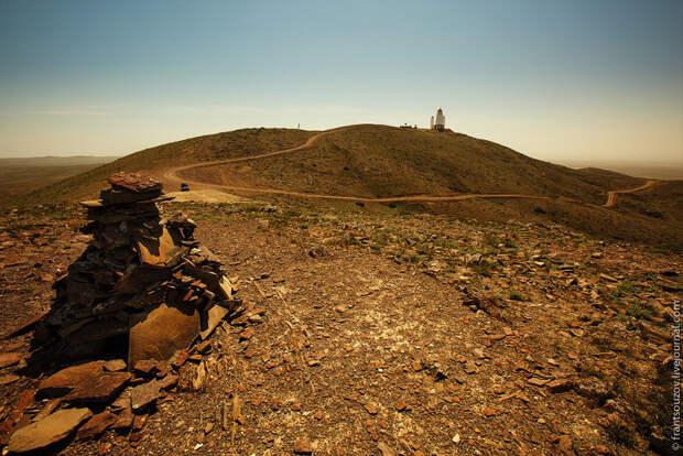Марсианские пейзажи полуострова Мангышлак