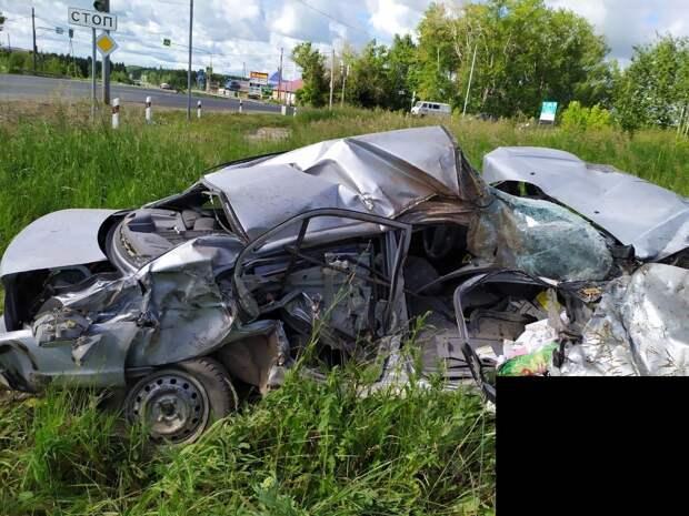 Пожилая женщина погибла в результате ДТП на трассе в Удмуртии