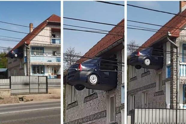 Когда парковка занята. | Фото: Reddit.