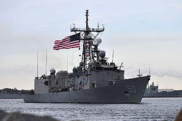 В МИД оценили планы США направить военные корабли к границам России