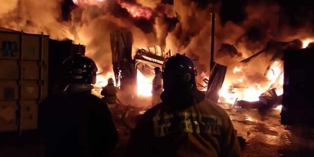 В Москве один человек погиб при пожаре