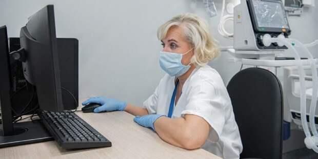 В Москве уже 4 детские поликлиники полностью перешли на электронные медкарты