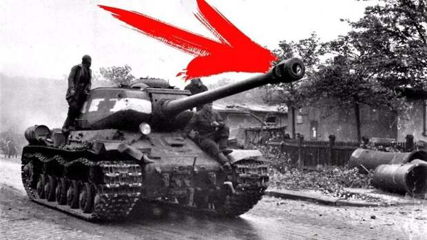 Зачем вешать ведро на ствол танка... Т 34-85, ведро, смекалка, ствол