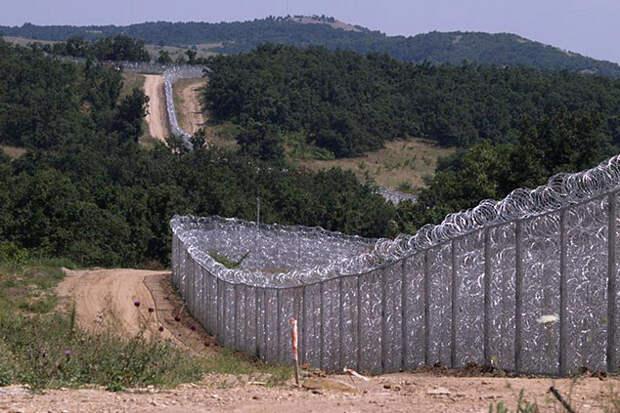 ограждение на границе