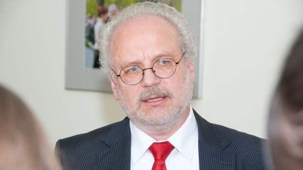 «Чужая война». Латышей разгневали слова президента Левитса о роли Латвии в ВОВ