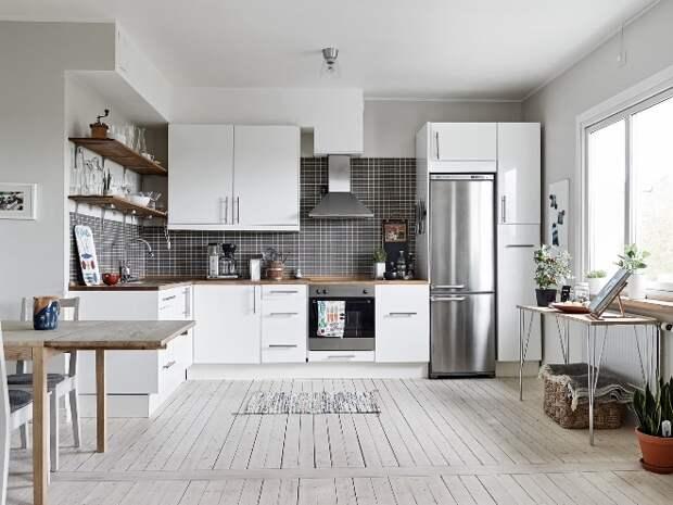 Холодильник на кухне: как выбрать правильное место (89 фото)