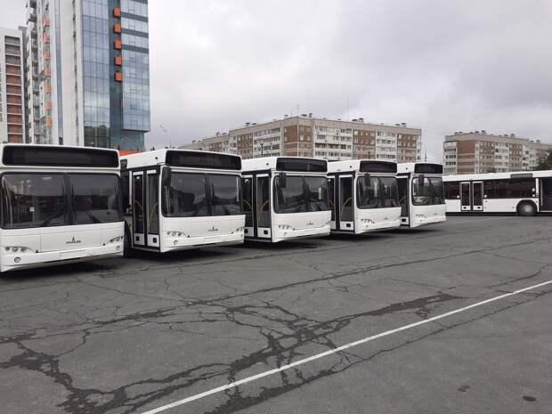 В Ижевске вышли на маршруты 30 новых автобусов