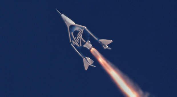 ТАСС: в США проведено первое испытание в небе космолета Unity