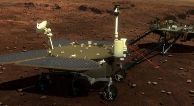 ВNASA поздравили Китай суспешной посадкой ровера наМарс
