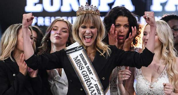 Нормальная такая «Мисс Германия» в этом году