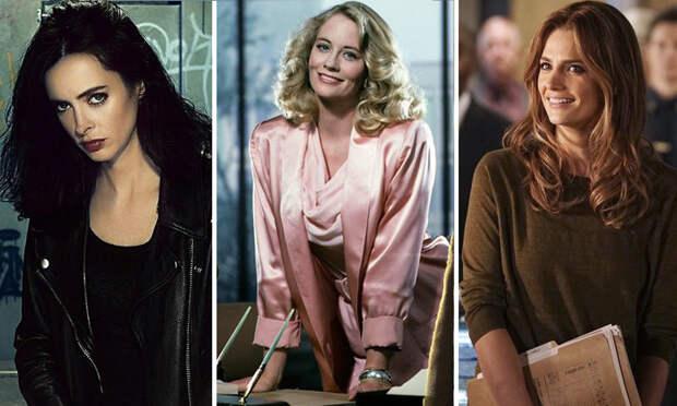 18 самых сексапильных сыщиц из заграничных детективных сериалов