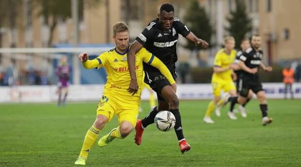 Борисовский БАТЭ второй раз подряд вышел в финал Кубка Беларуси.