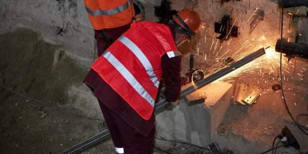 Собянин рассказал о ходе реконструкции станции метро «Каховская» /Фото: М. Денисов mos.ru
