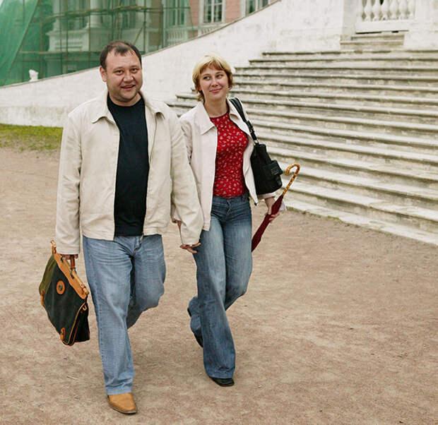 Юрий Степанов с супругой.