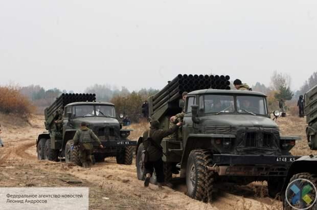 Подразделения ВСУ на Донбассе приведены в полную боевую готовность