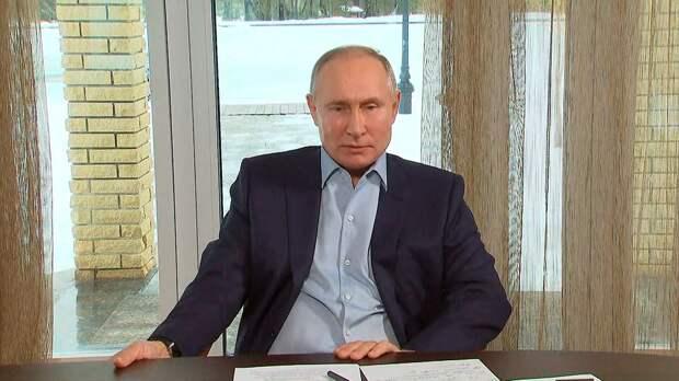 Путин обвинил США в попытках сдержать развитие РФ