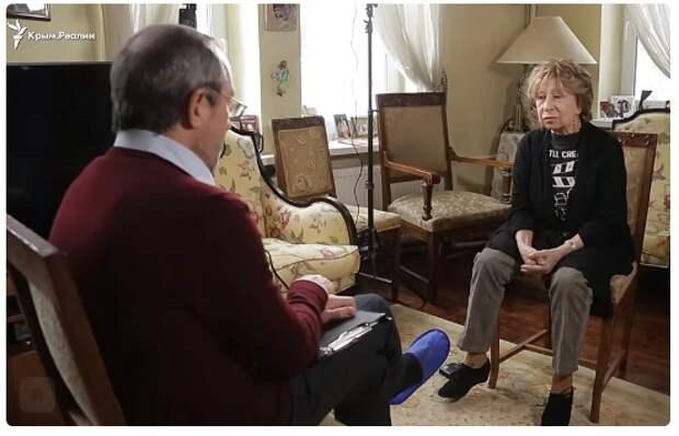 О чем Лия Меджидовна рассказала украинскому телеканалу?