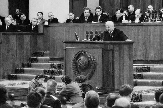 Никита Хрущёв (лидер СССР после Сталина)