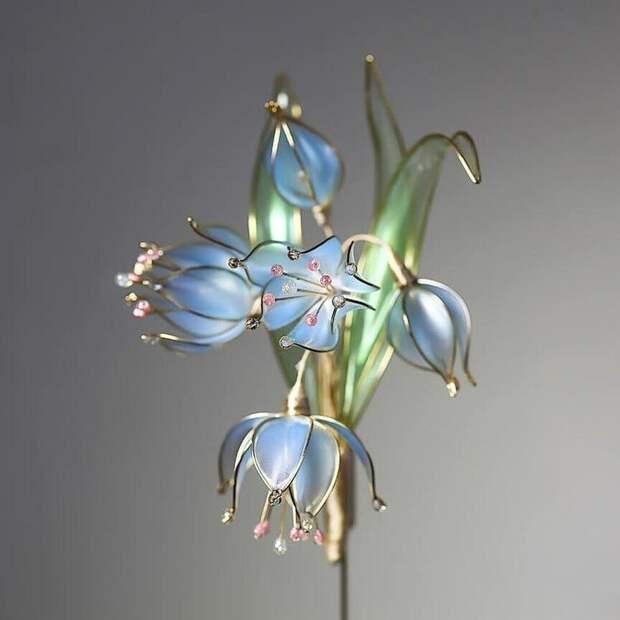Удивительные украшения Crystal Flora