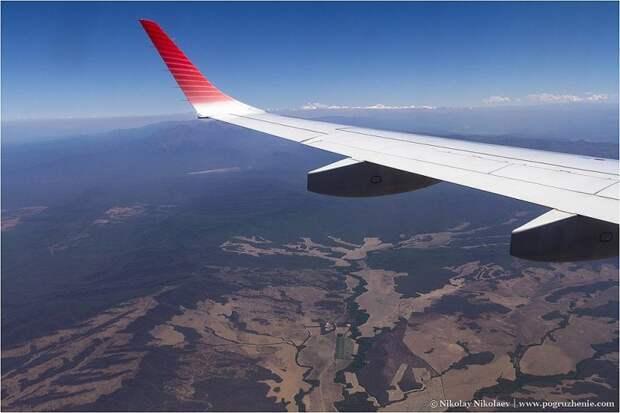 Аргентина с высоты птичьего полёта