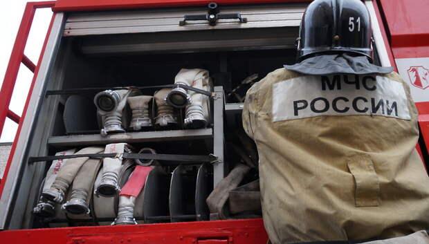 Пожарные ликвидировали возгорание в бане СНТ «Искра» в Подольске