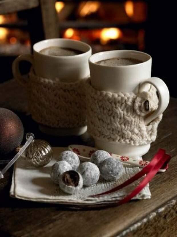Зимний чарующий кофе