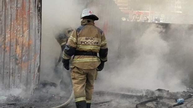 Однокомнатная квартира сгорела в Невском районе Петербурга